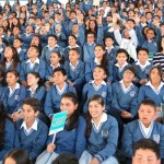 Presidente, Gobernador y Ministra dan apertura a la jornada escolar en el colegio más pilo de Cundinamarca